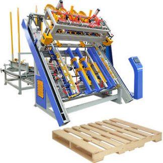Stringer Pallet Machine